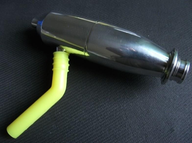 Extensión de tubo de silicona para HSP traxxas hpi 1/10 1/8 Modelos - Juguetes con control remoto - foto 3
