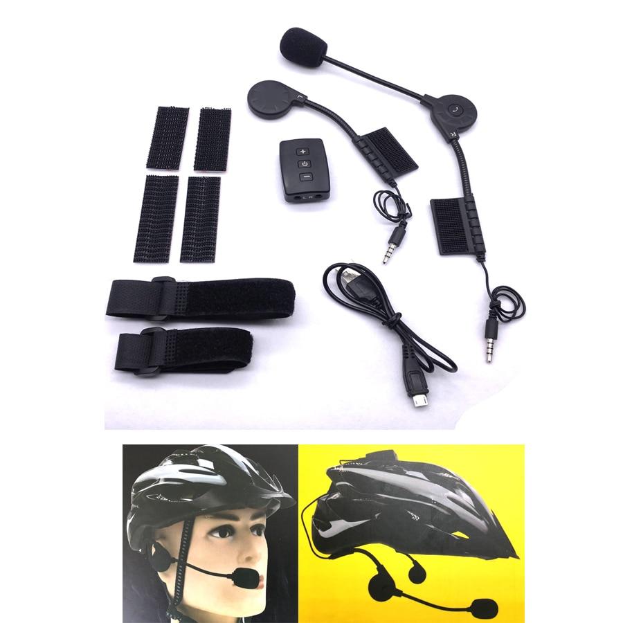 Newest Bicycle Helmet Bluetooth 4.1 Wireless Headset Headphone Earphone Sport Outdoor Portable Riding Bike Helmets Earphones