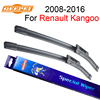 QEEPEI Windscreen Wiper For Renault Kangoo 2008 Present 23 21 Wipers Blade Accessories Auto Rubber Windshield