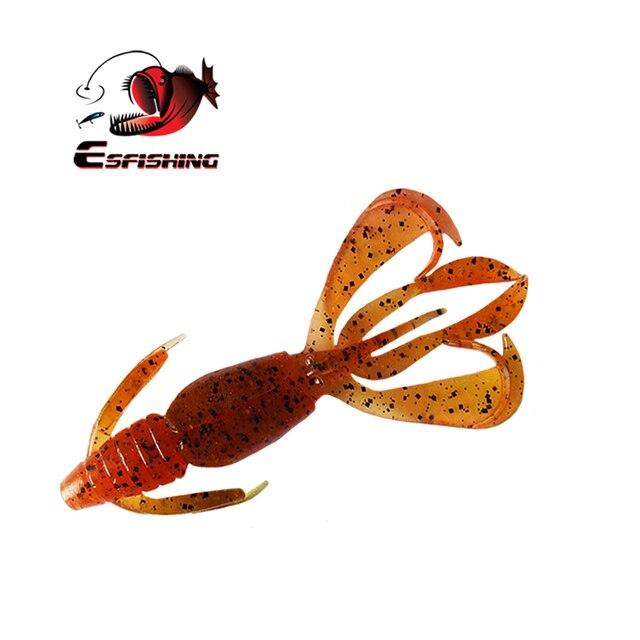 Esfishing Fishing Lures Soft Big Pesca Silicone Bait Crazy Flapper 11cm 11.5g  5pcs Carp Fishing  Wobblers For Fishing 1