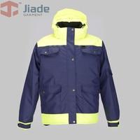 Jiade  Mens Winter Jacket  Work Jacket  Men's Hooded Multi Pocket Jacket  water proof Winter Jacket