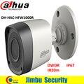Dahua 1 megapixel 720 p à prova de água-hac-hfw1000r hdcvi câmera ir-bala câmera lente de 3.6mm