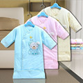 2016 Dormir Swaddling Cobertores de Algodão Recém-nascidos Carrinhos Cama Dos Desenhos Animados Do Bebê Recém-nascido Swaddle Envoltório Cobertor Cama Bonito Do Presente Do Bebê