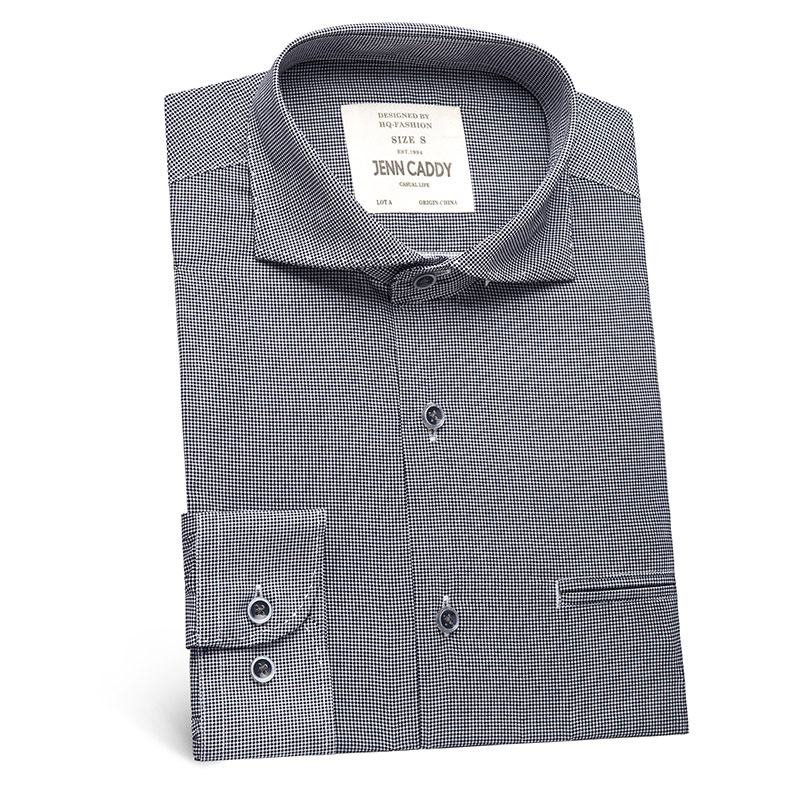 Mens Polka Dot Dress Shirt 2017 Spring New 100% Cotton Shirt Men Casual Long Sleeve Chemise Homme Formal Business Camisa Social