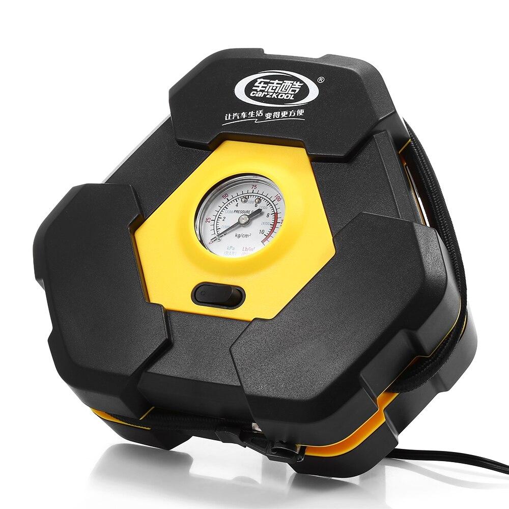 Tragbare 12 v Auto Auto Elektrische Luft Kompressor Reifen Inflator Pumpe mit 3 mt Lange Extended Power Kabel mit Zigarette leichter Stecker