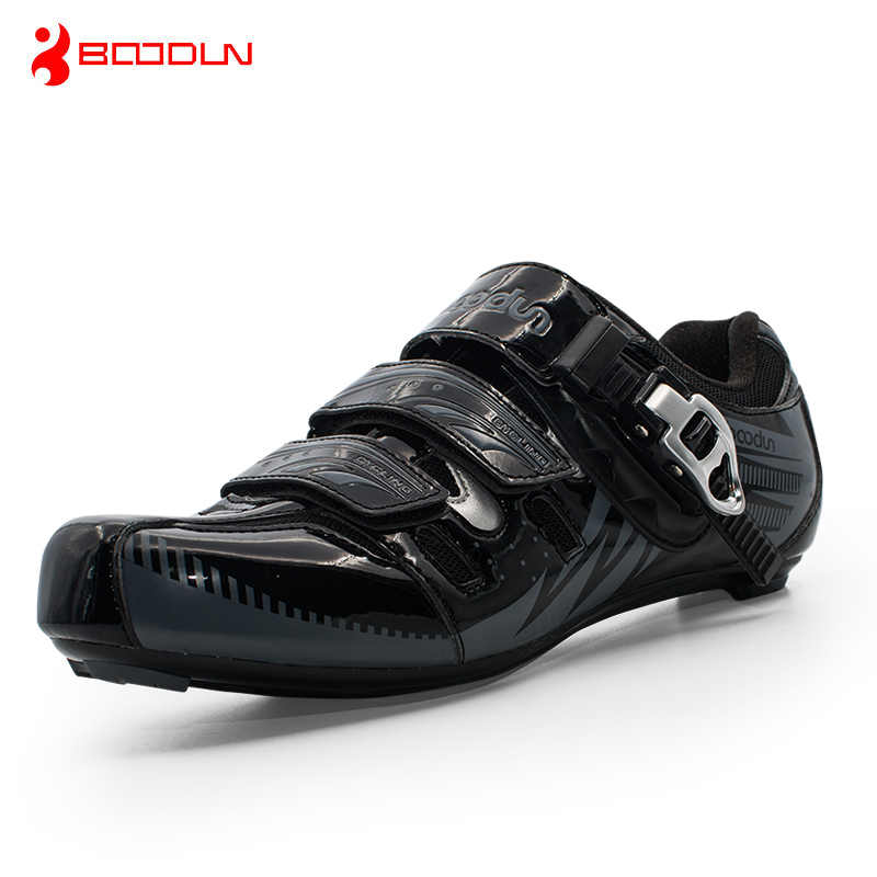 Boodun Men Road Cycling Shoes Bicycle Athletic Racing Sports Shoes Bike Professional Self-Locking Shoes zapatillas ciclismo sidebike mens road cycling shoes breathable road bicycle bike shoes black green 4 color self locking zapatillas ciclismo 2016