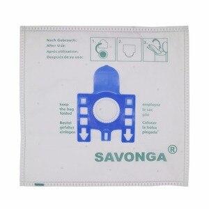Image 2 - 10 pièces de haute qualité pour Miele FJM sac à poussière pour MIELE FJM GN Type aspirateur Hoover sacs à poussière et filtres chat chien taille 270*270MM