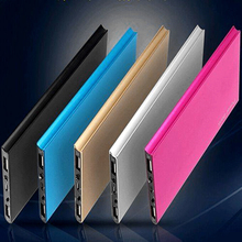 HOT 20000mah Portable Professional Ultra Thin External Battery Charger Charging Station Power Bank for Cell Phone Dual USB Ports
