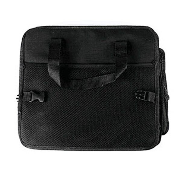 Универсальный автомобильный органайзер для хранения багажник складные ящики для хранения игрушек, продуктов грузовой контейнер сумки черный ящик автомобиль Укладка Уборка - Название цвета: Черный