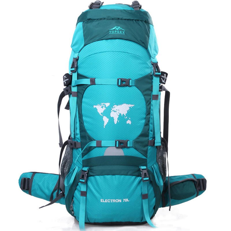 60L/70L/80L profesional montañismo bolsa de viaje al aire libre mochila hombres y mujeres impermeable mochila de senderismo 80L A4840 - 2