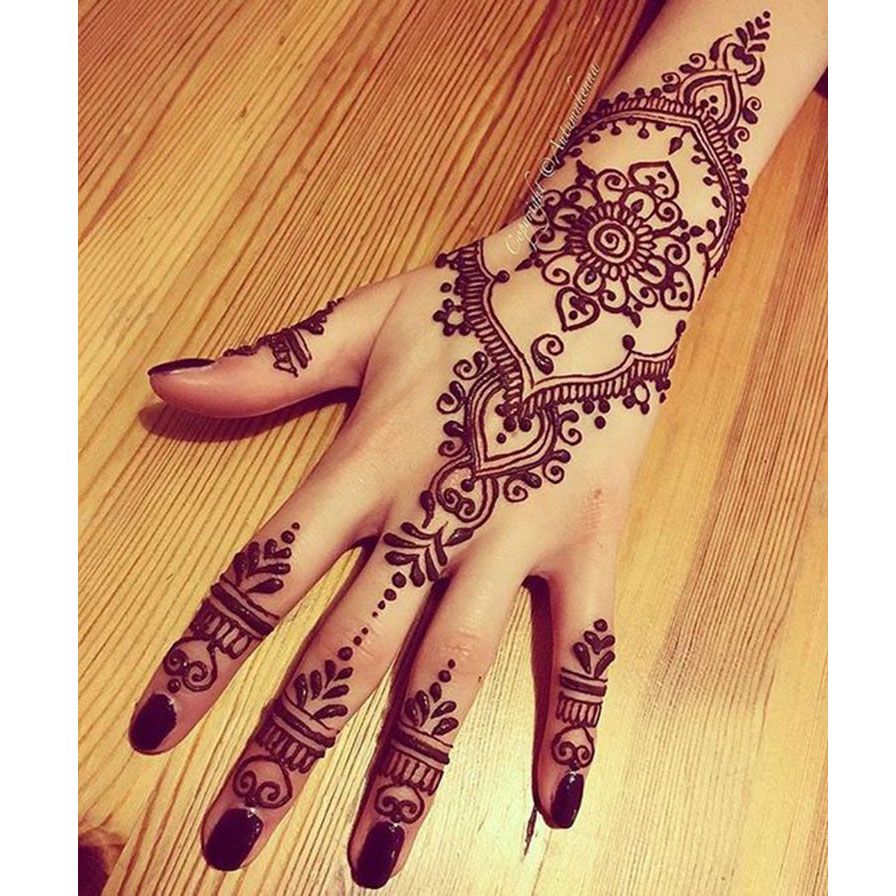 aliexpress com buy black brown red white henna cones indian henna