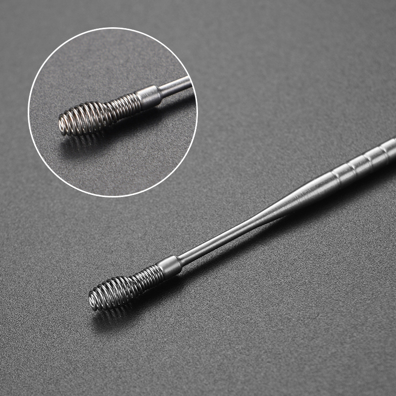 5pcs/set Ear Wax Pickers Cleaner Stainless Steel Earpick Wax Remover Curette Ear Pick Cleaner Ear Clean Tool Health Care Tool