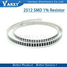 цена на 50Pcs 2512 SMD chip fixed resistor 1% 1W 0.1R 0.01R 0.05R 0.001R 0.33R 0.5R 1R 0R 10R 100R 2W 0.001 0.01 0.1 0.33 0.05 1 0 ohm