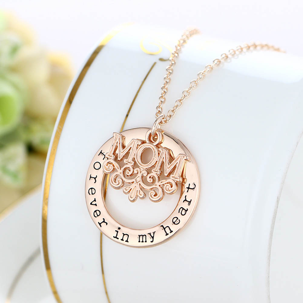 Mother Forever in My Heart Necklace 1