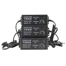 Адаптер постоянного тока 3в 12в 24в 9В 24В Регулируемый переменный