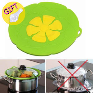 Spill-Stopper-Cover Gadgets Pot Cookware Flower Kitchen-Accessories Cooking-Tools Silicone Lid
