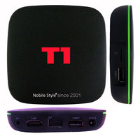 3pcs 2 Years Warranty T1 1gb 8gb Smart Android IPTV Live Streaming Tv Boxes Quadcore H