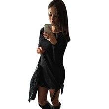 Jinggton oval Sexy Seitenschlitz Frauen Verband Bodycon Cocktail Party Unregelmäßige Minikleid