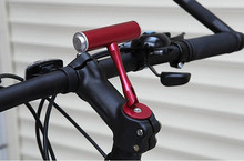 T Frame Bicycle Handlebar Extensions Adapter Lamp Cycling Computer Clip Holde Light