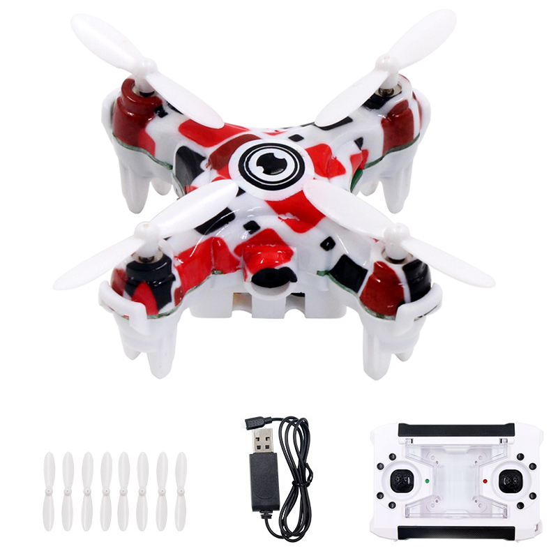 EBOYU(TM) Shenqiwei E905B 2.4G 4CH 6-axis Mini RC Drone Quadcopter with 0.3 MP Camera w/ Speed Switch Colorful Light RTF
