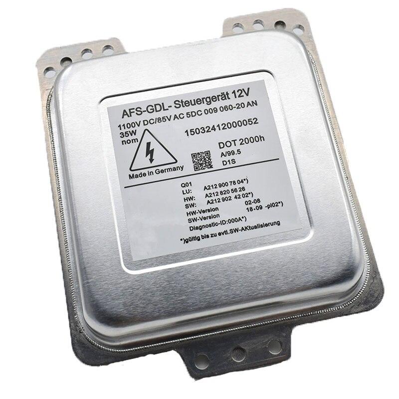 5DC009060 20 5DC009060 20 5DC00906020 D1S Xenon HID Headlight Ballast Module For Benz E350