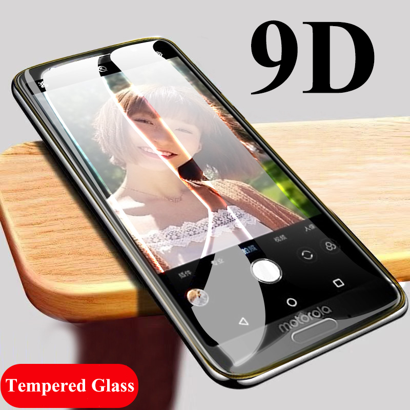 9D tempered glass for Moto G6 Plus screen protector for Motorola One Power P30 Note G6 G7 Power Play E5 E4 Plus protective glass image