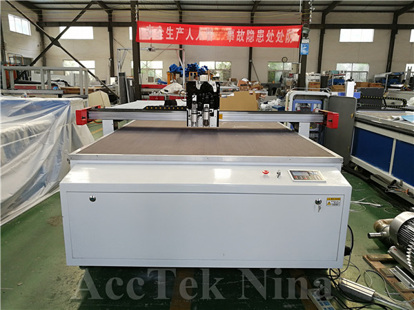 Vibrating Knife Cutting Head AKZ1625 1600x2500mm China Trocen TC-6828 Control System Japan Japanese Fuji Servo Motor And Drivers