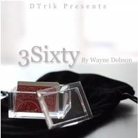 3sixty By W D Gimmicks Dvd Magic Tricks Illusions Close Up Mentalism Comedy Stage Magic Accessories