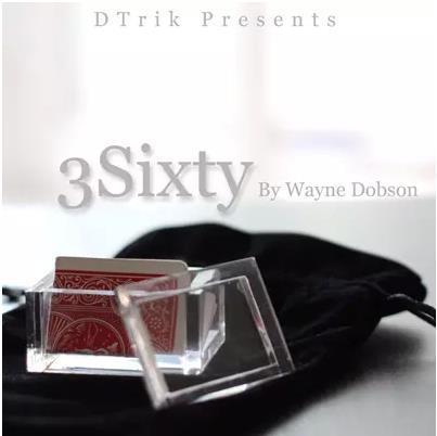 3 soixante Par W D (de Gadgets + Dvd)-Des Tours de Magie, Illusions, Close Up, Mentalisme, comédie, Magie D'étape, Accessoires