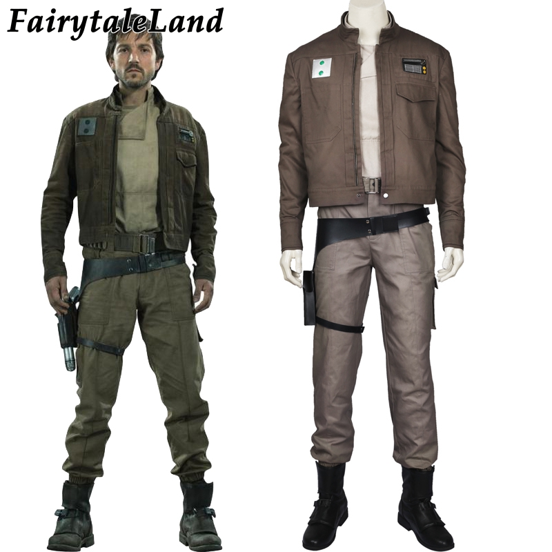 Cassian Andor Cosplay Costume Rogue One A Star Wars Story cosplay Halloween Costumes Cassian Andor outfit superhero costume-in Movie & TV costumes from Novelty & Special Use    1