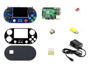 Image 1 - Waveshare Video Spiel Konsole Entwicklung Kit G Raspberry Pi 3 Modell B + Micro 16GB Sd karte Unterstützt Recalbox /Retropie