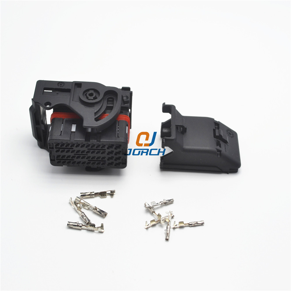 Ecu Female 48 Pin Way Molex Automotive Central Contral System Wire Wiring Harness Connector Connectors Sets Kits 643201311