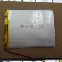 Pacote 3.7 V bateria de polímero de lítio 357090