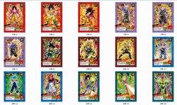 37 шт. Dragon Ball супер ультра инстинкт Гоку Jiren фигурку игрушки цифры часы в советском стиле игры Флэш карта коллекционные карточки