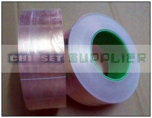 1x 50mm*30M*0.06mm 2 Sides Conductive Copper Foil Tape Adhesive Sticky  EMI Masking Electromagnetic Shield