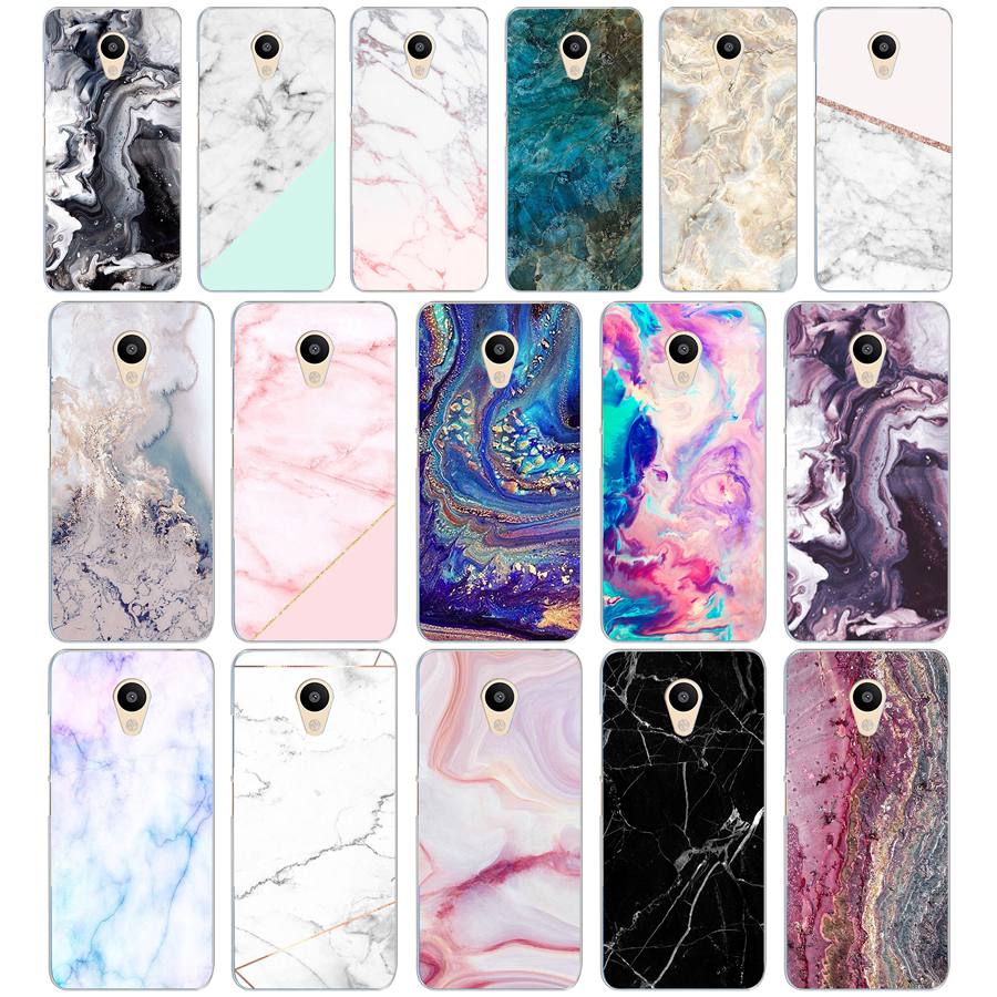 52DD Colorful Marble Hard Transparent Cover Case for <font><b>Meizu</b></font> M2 <font><b>M3S</b></font> M3 <font><b>M3S</b></font> M5S <font><b>Mini</b></font> M3 note M5 M6 M6 note U10 U20 image