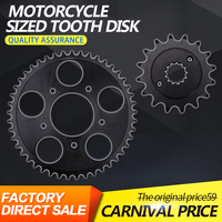 A Set Front And Rear Chain Sprocket Gear Disc Wheel Kit For HONDA Steed400 Steed600 Steed 400 600 Motorcycle Accessories