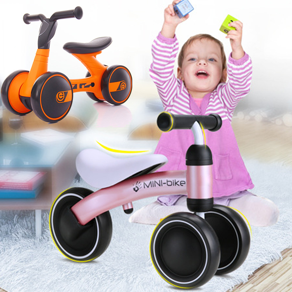 Children Three Wheel Balance Bike Kids Scooter Baby Walker Tricycle Bike Ride On Toys Gift Walking For Child Toys For Baby new children three wheel balance car scooter foldable no foot pedal child swing car twist car baby walker tricycle riding toys