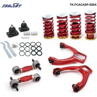 Pivot Lowering Coil Springs Front Camber Kits Rear Lower Control Arms Fits For Honda Civic EK