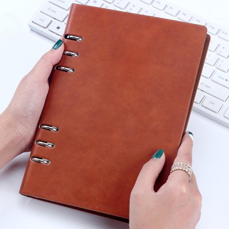 B5Macarons PU liant A5 A6 notebook Jurnal Planificator jurnal - Blocnotesuri și registre - Fotografie 5