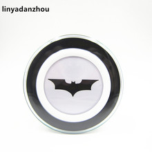 linyadanzhou 10pcs Batman Original Qi Wireless Charger Charging Pad for GALAXY S6 S6 edge G9200 G920f NOTE5 S7
