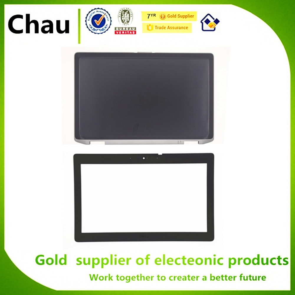 New For Dell Latitude E6420 LCD Back Cover AM0FD000900 10A27& LCD Front Bezel Cover 0H4NX0