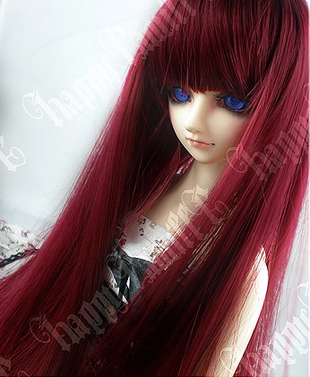 1/4 1/3 scale BJD  doll wig long hair for DIY BJD/SD accessory.Not included doll,clothes,shoes,and other accessories 17C3236