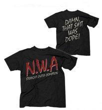 N.W.A. T-Shirt Straight Outta Compton Classic Logo T Shirt NWA Movie Rap Hip  Hop Ice Cube Eazy E For Men euro Size XS-3XL 3c7ffa39775