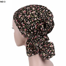 2017 Europe And The USA Popular Headband Cotton Floral Printing Pirate Hat Head Scarf Girls Head Caps TJM-10 Hair Accessories