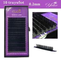 10 trays Individual Eyelashes Mink Cilios Posticos Natural Extensions Lashes Makeup False Eyelash Extension Fake Eye Lash Set