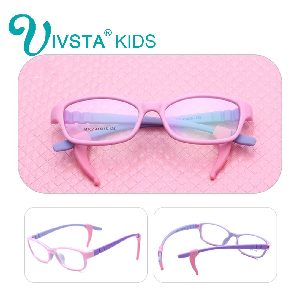 Ivsta 702 con silicona gancho adolescente Gafas marco para los niños ...