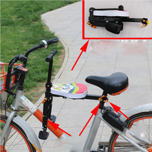 Childrens Bicycle Seats For Road Front Mat Child Safety easy carrying and folding quick release