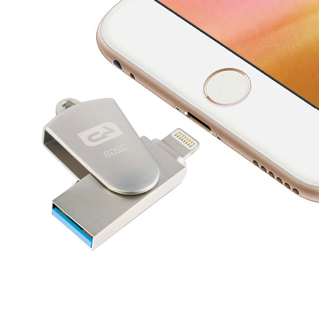 LD OTG USB Flash Drive 64GB 32GB 16GB Pen Drive USB 2.0 U Disk Memory Stick For IPhone/Ipod/ipad Air/ipad Mini/Mac