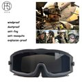 High Quality Army Tactical Eyewear Airsoft Paintball Shooting Glasses Hunting Goggles Outdoor Sport Sunglasses Gafas Militares